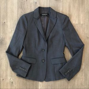 Club Monaco Dark Gray Pin Striped Blazer